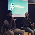 Damon Young and Panama Jackson of verysmartbros at stanford AAAS4TheCulture